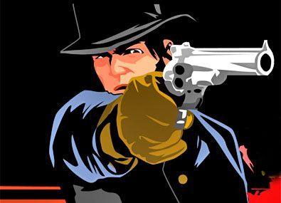 Pistolar in Vestul Salbatic